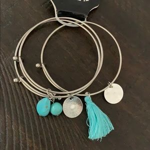 FREE Pure Expressions stacking bracelets 3pk